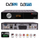 Opticum HD Sloth Classic Plus DVB-S/S2 Digital IP Receiver,HDTV, H.265, HEVC, HDMI, SCART, IPTV, LAN, USB, Schwarz