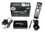 Maxytec 5G Plus IPTV Android/Linux Media Player, H.265 HEVC,WIFI,Kodi XBMC-Xtream-Stalker Portal Kompatibel