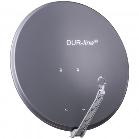 DUR-line Select 75/80 Anthrazit - Alu Sat-Antenne